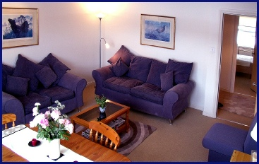 Lounge in Riverside Apartment by the Ness near Eden Court Theatre